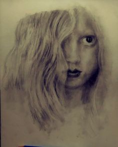 Graphite pencil portrait by John Gochenour Pencil Portrait, Graphite, At Least, Portraits, Drawings, Pretty, Gift, Graffiti, Head Shots