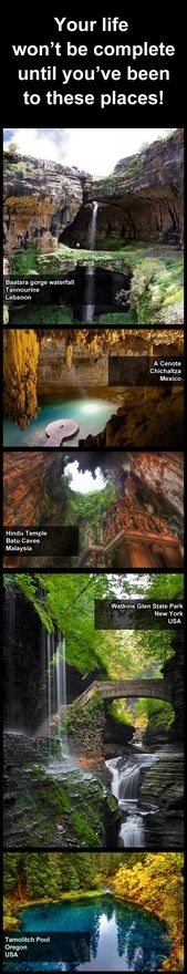 Challenge accepted. Won't die 'til I've been there. places-i-want-to-visit