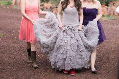 Purple Wedding Gown