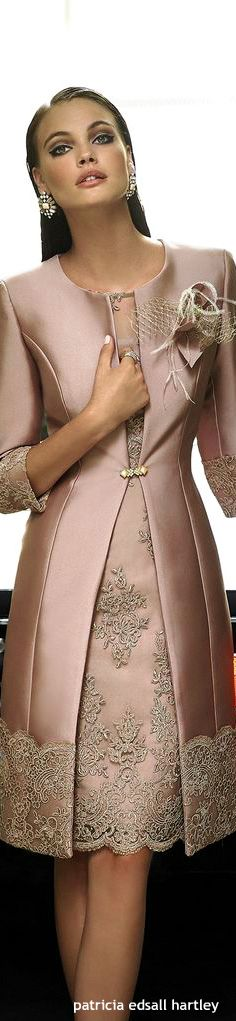 This is a wonderful mother of the bride suit dress. It can be made with a long or short skirt. 2 piece ensembles for the mother of the groom like this one are a perfect fit. The design has a couture feel. You can get more mother of the bride dress inspiration at www.dariuscordell.com (custom evening dresses for the mother of the bride are available at a reasonable cost).