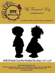 My-Treasured-Kutz-4006-Cutie-Pies-2-Cutting-Die-Size-1-25-x-2-8-NEW
