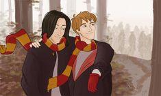 Sirius and Remus by julvett.deviantart.com on @deviantART