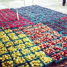 We should rename #Brooklyn Borough Hall Greenmarket to #berry town! #farmersmarketnyc