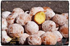 Když je ten svátek, tak jsem se pustila do přípravy těchto sladkých tvarohových kuliček. Sice je to smažené, ale moje děti to milují. Jedli by to snad i každý den, ale tak smažená a sladká jídla třeba omezovat, případně ještě doplnit nějaký ten pohyb navíc. Pokud máte rádi sladké jídlo jako hlavní chod, zkuste tyto tvarohové kuličky, které ještě obalíte v moučkovém cukru. Autor: Haanka Slovak Recipes, Hungarian Recipes, Home Recipes, Snack Recipes, Ham, Cereal, Stuffed Mushrooms, Food And Drink, Chips