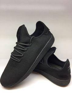 premium selection 95ecb ab165 Adidas Pharrell Williams Mens Textile Athletic Shoes fashion clothing  shoes accessories