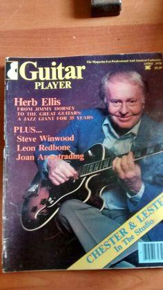 Guitar Player Mag good condition April 1978 Steve Winwood, Jazz, Guitar, Conditioner, Baseball Cards, Fun, Ebay, Jazz Music, Guitars