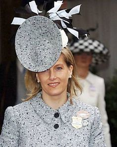 Sophie, Countess of Wessex. Plate Hat