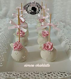 Valentine Desserts, Cute Desserts, Ballerina Cake Pops, Elegant Cake Pops, Gateau Baby Shower, Beautiful Cake Designs, Baby Shower Flowers, Engagement Cakes, Oreo Pops