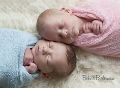 Newborn twins, boy and girl, newborn photography. Avon Lake, Cleveland, Ohio newborn photographer.