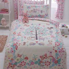 bluezoo Kids' ivory 'Little Owl and Friends' bedding set   Debenhams