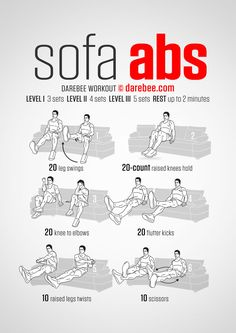 Sofa Abs Workout - better than doing nothing!