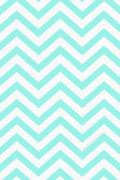 Blue Ombre Chevron Wallpaper