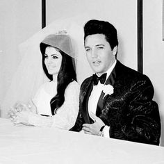 Dedicated to the Presley family Elvis And Priscilla, Priscilla Presley, Elvis Presley, Night Before Wedding, Elvis Wedding, Wedding Reception, Wedding Day, Second Weddings, Lisa Marie