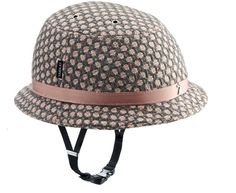 This is a bike helmet. A very cute bike helmet, I might add. I highly recommend wearing one while you're out and about town on your wheels, to protect your head and keep it fabulous.