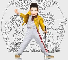 Un 5 de setiembre, Freddie Mercury cumplía 11 años.