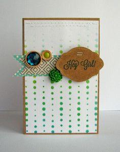Jillibean Soup Bean Talk: Cards on Monday! -- Stamps & Stencils -- Nicole Nowosad