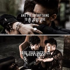 Even after Alec is gone, Magnus will love him forever Infinity ~ Jaymes Young