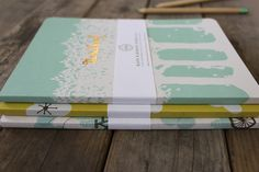 Oh So Beautiful Paper | Kate and Birdie Paper Co. Notebooks