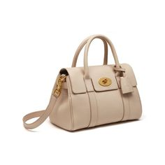 Small Bayswater Satchel in Powder Small Classic Grain  ea31a6bfbf377