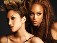 tyra banks and naima the winner of america's next top model