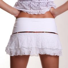 lace tennis skirt!