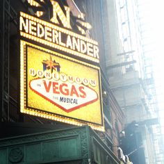 Jason Robert Brown's Honeymoon in Vegas playing at the Nederlander Theatre on Broadway. (Jan 15, 2015 - Apr 5, 2015)