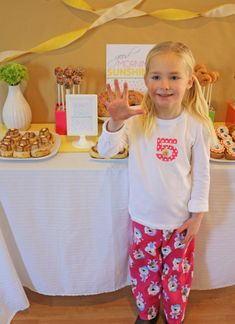 Planning a PJ and Pancake party for our own PJ lover (started by having matching PJ's with her American girl doll)
