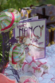 Fancy Nancy party ideas...Lily's 4th?