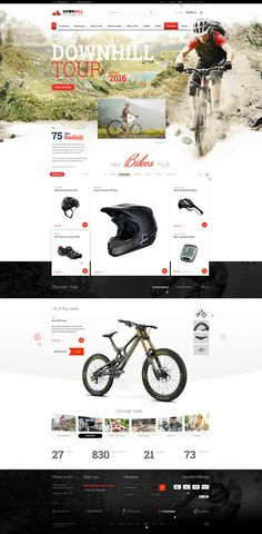 Private project. Online shop mostly for bikers. Main cover photo - 2000 px width. Project is available for purchase. #bikers #bike #sport #webdesign #website #visual #photomontage #shop #cyclist