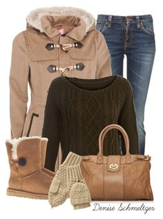 Untitled #143 by denise-schmeltzer on Polyvore featuring polyvore fashion style Nudie Jeans Co. UGG Australia Gap