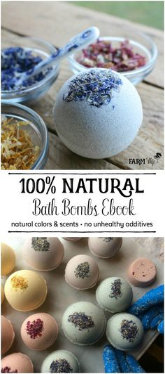 Bath bombs are so much fun to make and give, but there's a learning curve to figuring out how to get them just right. The Natural Bath Bombs eBook contains tips and recipes, along with basic formulas to use to design your own bath bomb recipes. It also covers how bath bombs work, natural colorant options, essential oils, herbal additives & more!