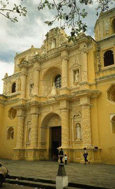 Iglesia y convento de Nuestra Señora de la Merced Antigua, Guatemala