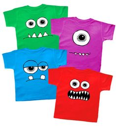 Monsters 4 T-shirt Set from Punk Baby Clothes. Saved to Ryder . Shop more products from Punk Baby Clothes on Wanelo.