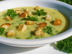 Slovak Recipes, Czech Recipes, Raw Food Recipes, Soup Recipes, Cooking Recipes, Healthy Recipes, Ethnic Recipes, Vegetarian Lifestyle, Vegetarian Soup