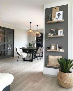 Living Room Grey, Interior Design Living Room, Home And Living, Living Room Furniture, Living Room Designs, Home Furniture, Accent Walls In Living Room, Antique Furniture, Cozy Living