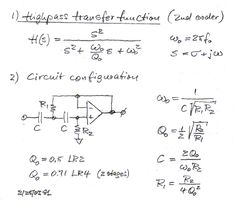 Active Filters Circuit, Audio Crossover, Seymour Duncan, Arduino, Filters