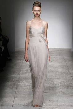 pick your own amsale bridesmaid dress...in champagne