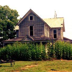 Abandoned Farm House, Muncie, IN