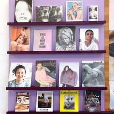 International Women's Day @kunsthallebasel bookshop #pledgeforparity