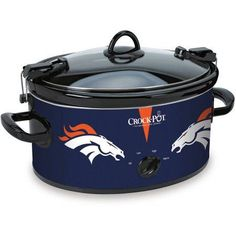 Crock-Pot NFL 6-Quart Slow Cooker, Denver Broncos - Walmart.com