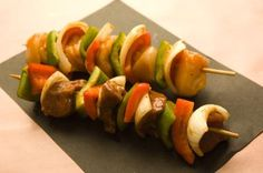 How to cook kabobs in a conventional oven  375* for 20 to 30 min., turning every 10 min.