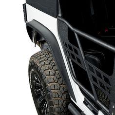 Underground Parts ABS Black Plastic Rear Bumper Protector Guard Trim VX-MK