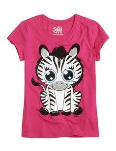 Zebra Graphic Tee | Animals | Graphic Tees | Shop Justice