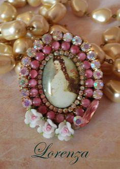Gorgeous Princess Sissi  ring by lorenza33 on Etsy, $49.00