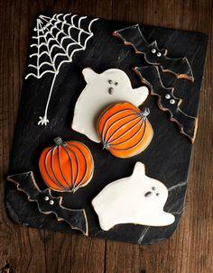 Galletas de #Halloween, terroríficamente divertidas