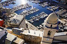 Corsica - Bastia - Le Vieux Port, L'église Saint Jean
