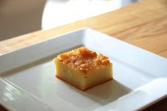 Butter mochi - Perfect recipe. (And a tip to add bourbon?! OK!!)