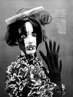Vogue Russia May 2010    Iris Strubegger by Paolo Roversi
