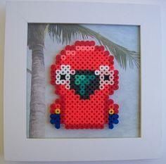 Parrot perler beads