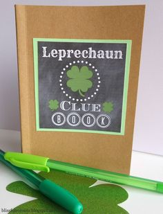 BLISSFUL ROOTS: Leprechaun Clue Book & Printable